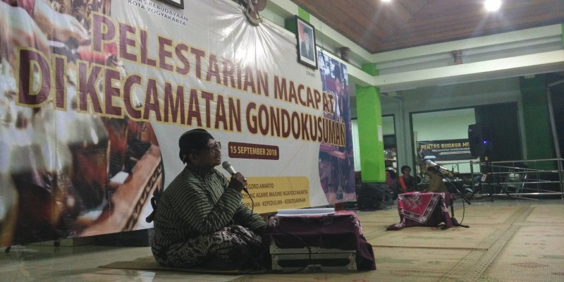 Pelestarian Macapat di Kecamatan Gondokusuman