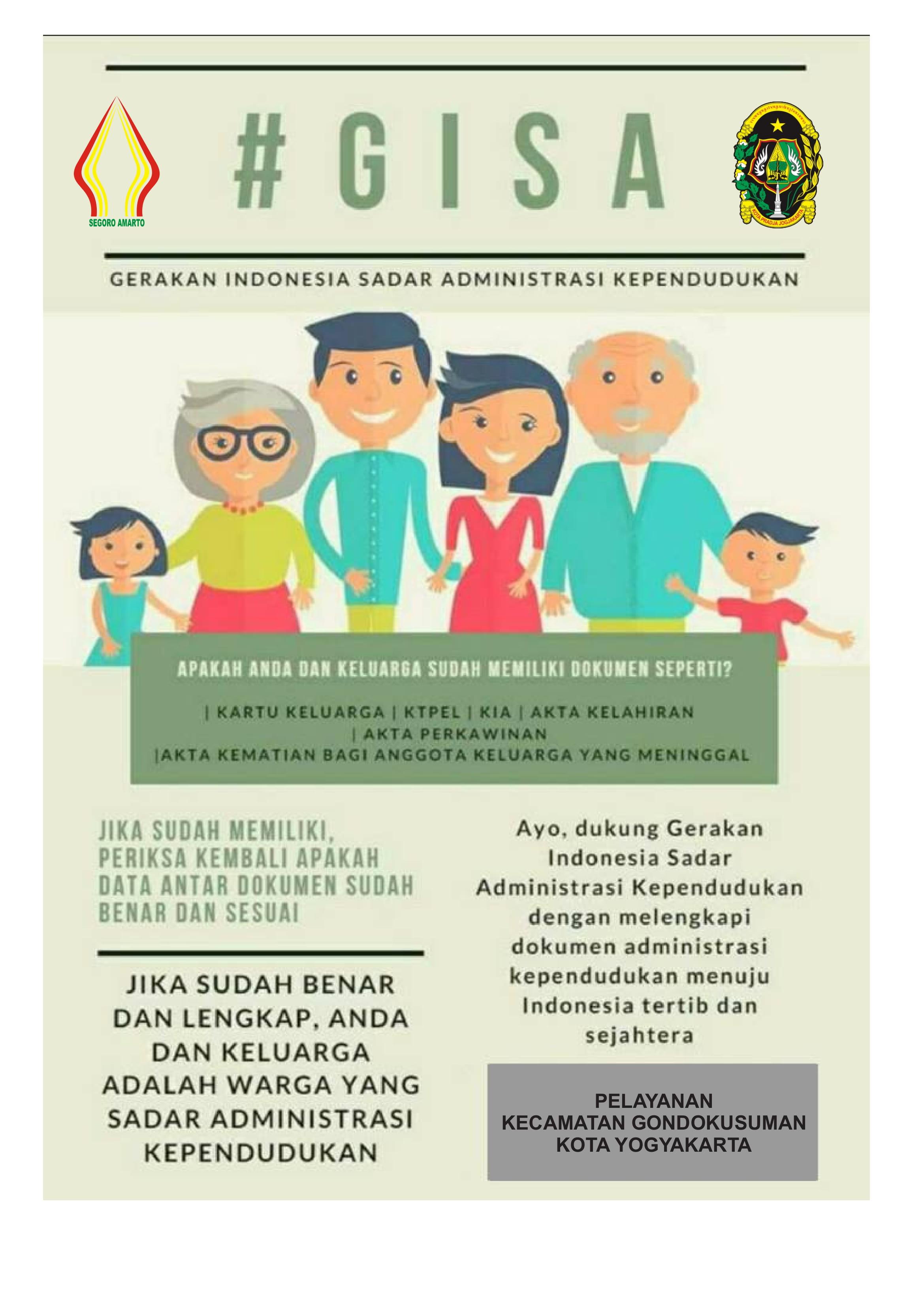 GISA (Gerakan Indonesia Sadar Administrasi Kepedudukan)