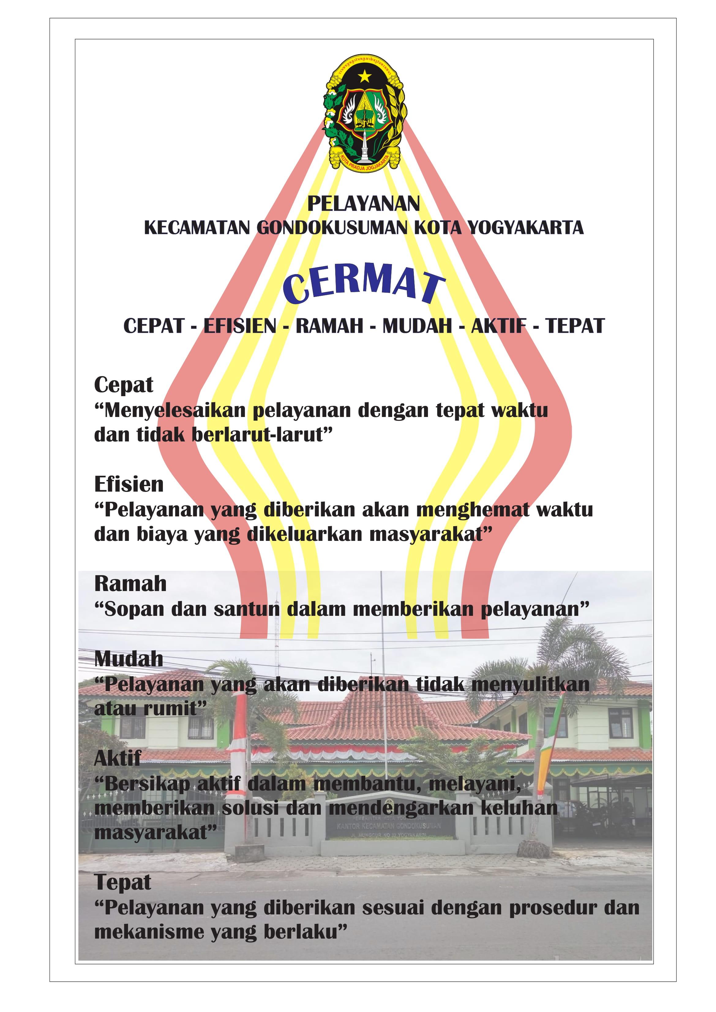 CERMAT (Cepat Efisien  Ramah Mudah Aktif Tepat)