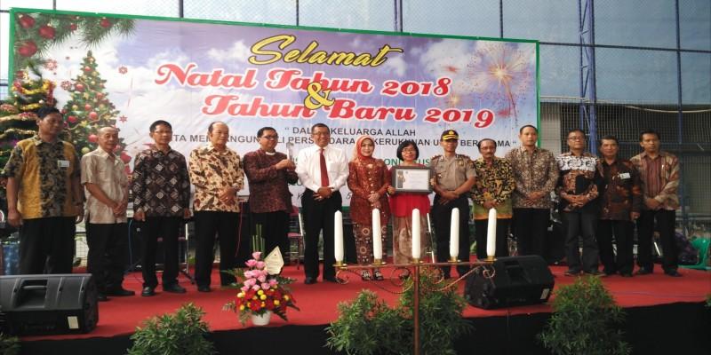 Perayaan Natal dan Tahun Baru Komisi Lansia Kecamatan Gondokusuman