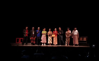 Penampilan Teater GeKa dalam Festival Teater tingkat Kota Yogyakarta 2019