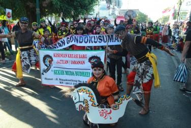 Partisipasi Kecamatan Gondokusuman dalam Jogja Cross Culture 2019