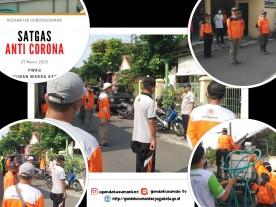 Satgas Anti Corona - PWKG (Paguyuban Warga Kampung Gendeng)