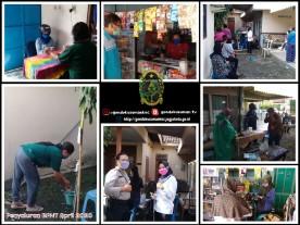 Penyaluran Bantuan BPNT di Kecamatan Gondokusuman