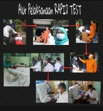 Rapid Test bagi seluruh pegawai Kecamatan Gondokusuman