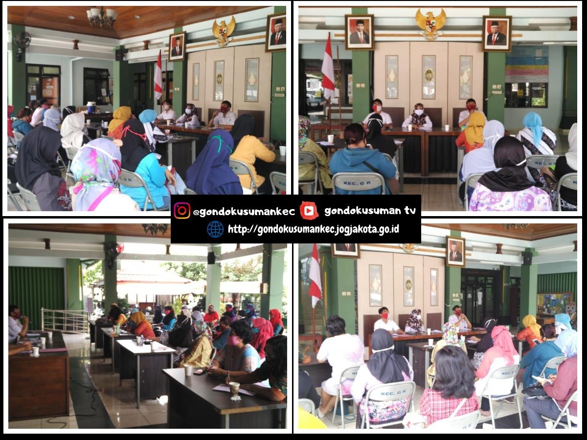 Pertemuan Ketua Kelompok KPM PKH Kecamatan Gondokusuman