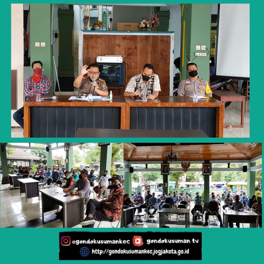 Pertemuan Disiplin Protokol Kesehatan Pencegahan Penularan Covid-19