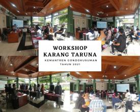 Workshop Seni Budaya dan Multimedia bagi Karang Taruna