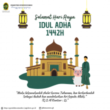 Selamat Hari Raya Idul Adha 10 Dzulhijjah 1442 H