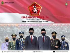 DIRGAHAYU TNI KE-76