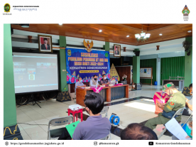 Sosialisasi Pemilihan Pengurus RT dan RW Masa Bakti 2022-2024 Kemantren Gondokusuman